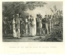 The capture of the king of delhi by Captain Hodson.jpg
