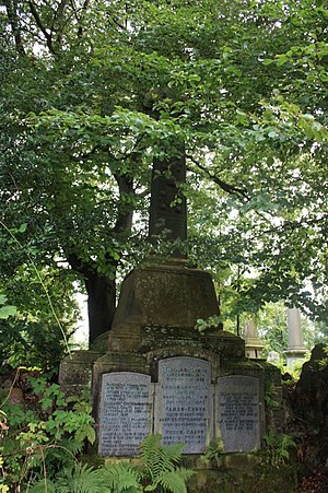 Sir Thomas Glen-Coats, 1st Baronet - The grave of Sir Thomas Coats, Woodside Cemetery, Paisley