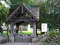 The lychgate of St. Michael's Church, Warden - geograph.org.uk - 1066982.jpg