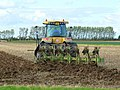 The plough enters the soil - geograph.org.uk - 1024016.jpg