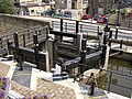 The top of the new lock, Sowerby Bridge - geograph.org.uk - 195700.jpg