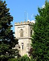 The tower of St George's Church, Brockworth - geograph.org.uk - 566902.jpg