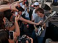 Thomas Fekete (Surfer Blood) Thank You For Playing Guitar With Me - Playhouse District Eclectic Stage, Make Music Pasadena 2014 (2014-06-07 by Ian T. McFarland) cropped.jpg
