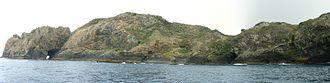 Three Kings Islands - The Waterfall, Tasman Bay, southern east coast of Great Island