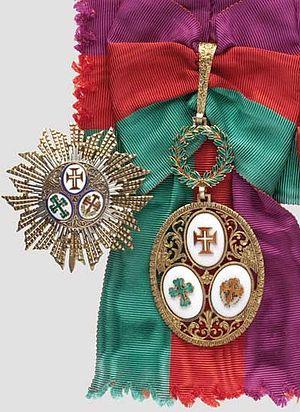 Sash of the Three Orders - Image: Three Orders