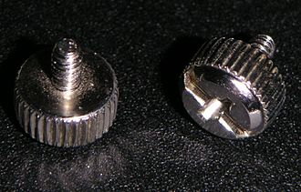 Computer case screws - Image: Thumbscrews pc