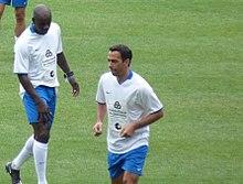 Thuram e Djorkaeff, due tra i maggiori protagonisti del double francese Mondiale-Europeo
