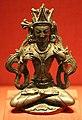 Tibet occidentale, bodhisattva vajraraksha, argento, 1100 ca.jpg