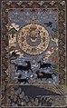 Tibetan or Chinese origin, 18th century embroidery Tibetan Buddhist art of Cosmic Mount Meru.jpg