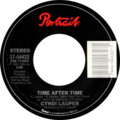 Time after time by Cyndi Lauper US vinyl.png