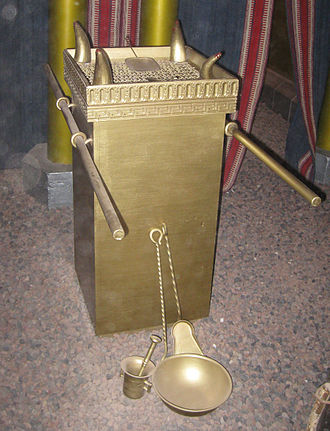 Incense offering - Model of the Golden Altar