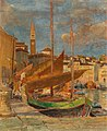 Tina Blau - In the Harbour of Pirano.jpg