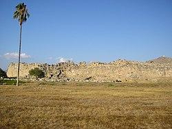 Άποψη από τα τείχη της Τίρυνθας