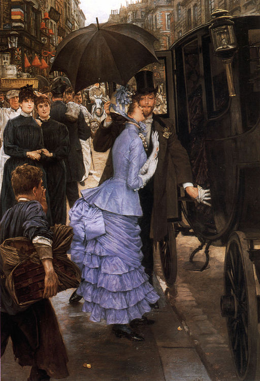 """The Bridesmaid"" by James Tissot"