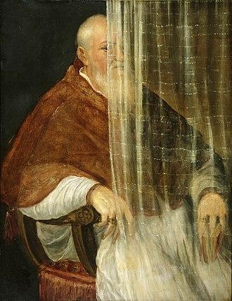 Filippo Archinto - Image: Titian Portrait of Cardinal Filippo Archinto 1558