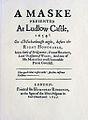 """Title page to """"A Maske"""", 1637.jpg"""