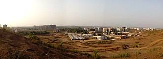Titwala - Image: Titwala Infrastructure panoramic view