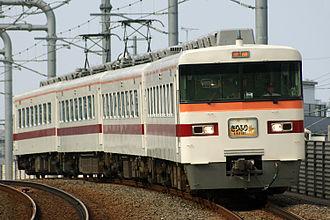 Tobu 1800 series - A 350 series set on a Kirifuri service in July 2008
