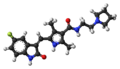 Toceranib molecule ball.png