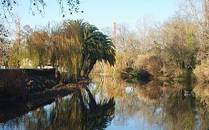 River Nabão, Tomar, Portugal