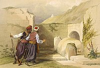 Tomb of Joseph at Shechem 1839, by David Roberts.jpg