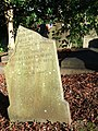 Tombstone, St David's churchyard, Exeter - geograph.org.uk - 677939.jpg