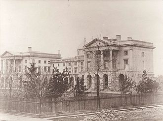 Osgoode Hall - Osgoode Hall in 1856