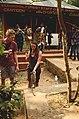 Toursits feeding bonnet macaque in athirapalli kerala JEG3274.jpg