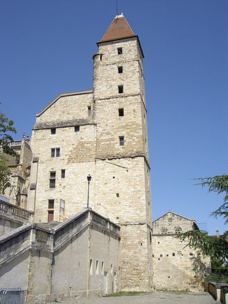 Gers - Image: Tower of Armagnac, Auch, Gers, France
