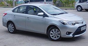 Toyota Motor Philippines - Image: Toyota Vios (XP150) sedan front view