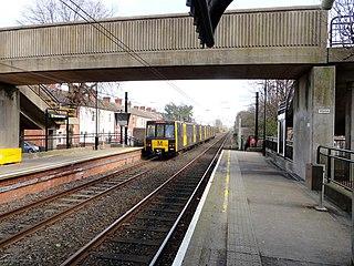 Hadrian Road Metro station Tyne and Wear Metro station in North Tyneside