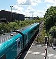 Train speeds through Coedcae Lane level crossing, Pontyclun - geograph.org.uk - 4026575.jpg
