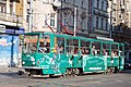 Tram in Sofia near Central mineral bath 2012 PD 067.jpg