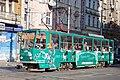 Tram in Sofia near Central mineral bath 2012 PD 067.jpg