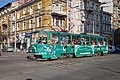 Tram in Sofia near Central mineral bath 2012 PD 069.jpg