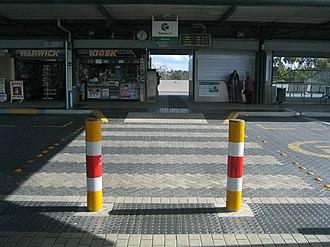 Warwick railway station, Perth - Station Entrance