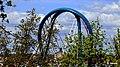 Trasa Uniwersytecka – widok pylonu mostu ze wzgórza Wolności - panoramio.jpg