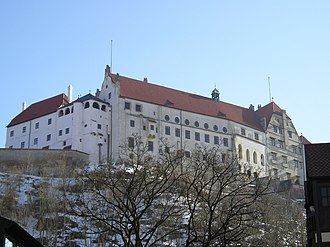 Trausnitz Castle - View of the Castle
