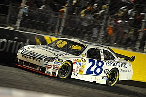 Travis Kvapil - Kvapil in the No. 28 at Darlington in 2008