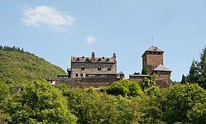 Treis-Karden - Castle Wildburg in 2012