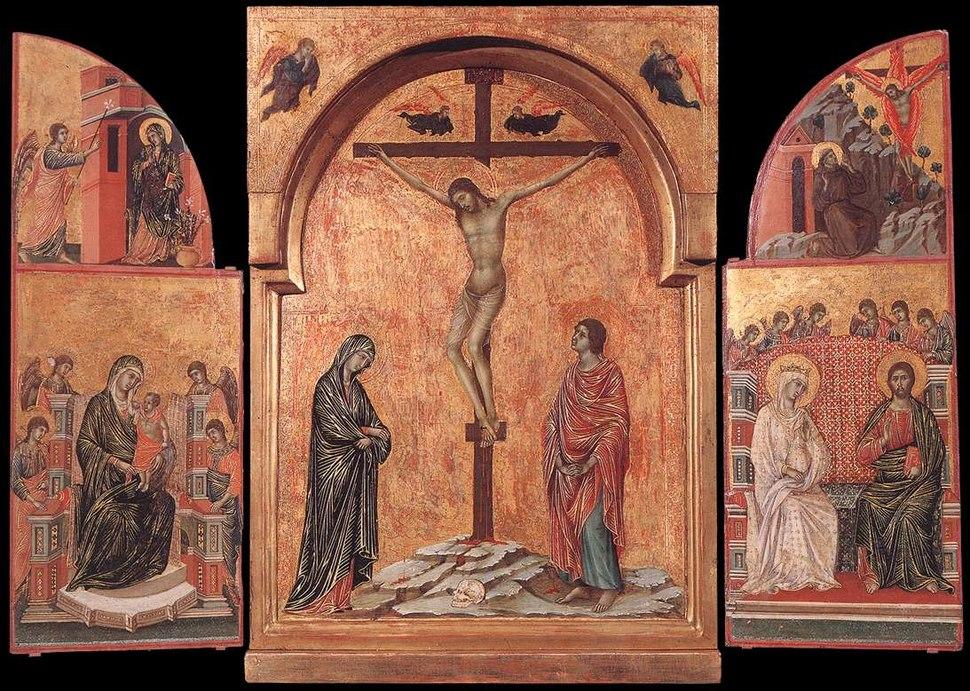 Triptych (1305-08); Duccio di Buoninsegna