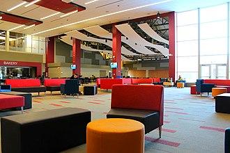 Triton College - Image: Triton College Student Center Cafeteria 2 12 2018