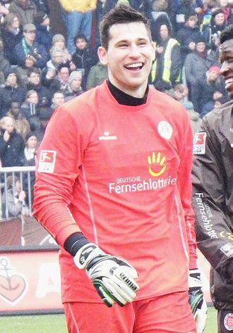 Philipp Tschauner - Tschauner with St. Pauli in 2013