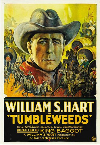 Tumbleweeds (1925 film) - Theatrical poster