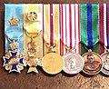 Tupou VI Medals on Display.jpg