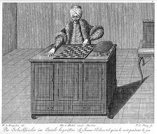 """Maelzels Chess Player essay by Edgar Allan Poe, exposing the chess automaton """"The Turk"""" as fraudulent"""