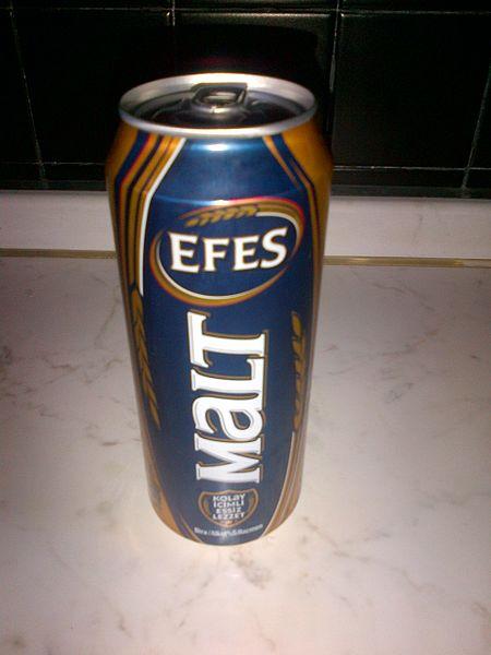 トルコのビール・エフェス