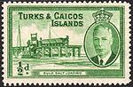 Turks and Caicos Islands bulk salt loading stamp 1950.jpg
