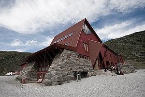 Turtagrø - Turtagrø, the new hotel building from 2002