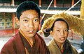 Two novice monks. Tashilhunpo, 1993.jpg